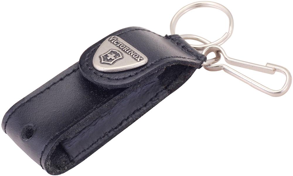Чехол-брелок Victorinox для ножей 58 мм. (4.0515) с отверстием для фонарика, кольцом и карабином - Wenger-Victorinox.Ru