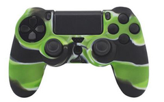 Чехол для геймпада DualShock 4 (камуфляж зеленый)