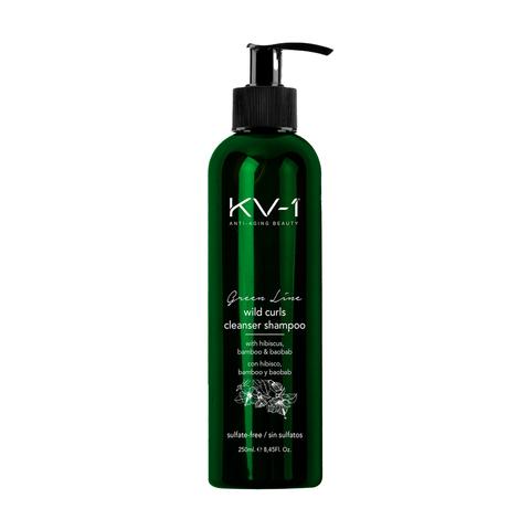 KV-1 Шампунь для вьющихся волос без сульфатов Green Line Wild Curls Cleanser Shampoo