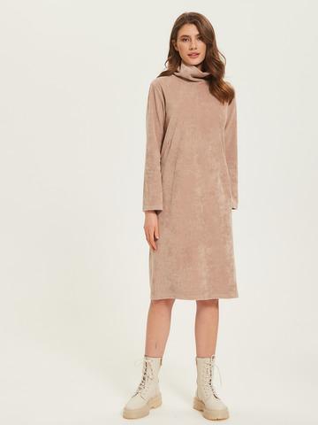 Платье Вельвет Какао