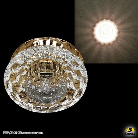 7277/H G9 GD светильник точ.