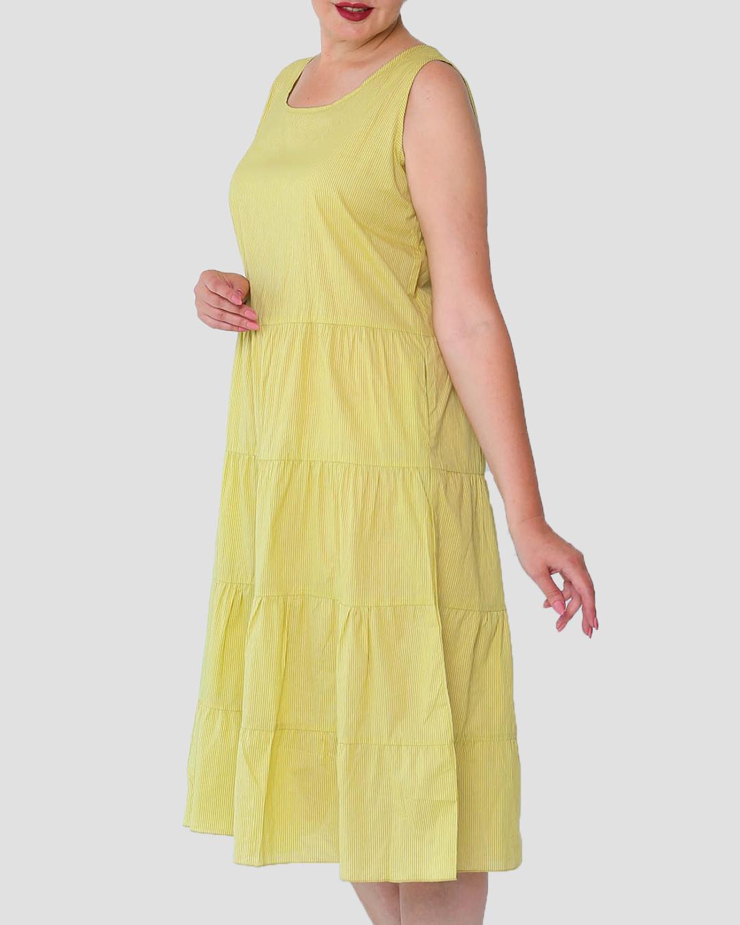 Платье (Сарафан) без рукавов