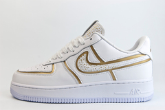 кроссовки Nike Air Force 1 Wmns CR7 White / Gold