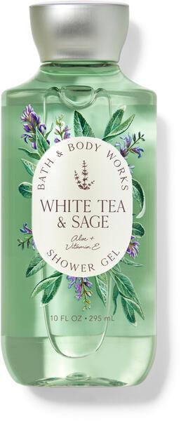 Гель для душа Bath&BodyWorks White Tea and Sage 296 мл