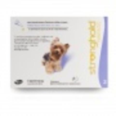Стронгхолд капли на холку для собак 2,5-5кг (1 пипетка)