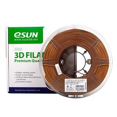 PLA+ пластик ESUN 1,75мм 1кг, Світло-коричневий для 3D принтера