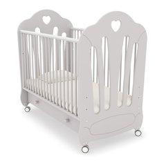 Кровать детская Стефани белая ночь