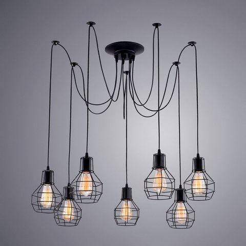 Люстра Паук 7 ламп A1109