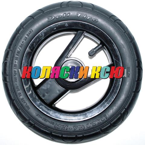 Колесо для детской коляски №003070 надув 10 дюймов без вилки 54-152 10х2,0