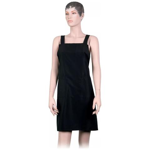 Фартук мастера Dewal для стрижки мужской, полиэстер, черный 74х78,5см