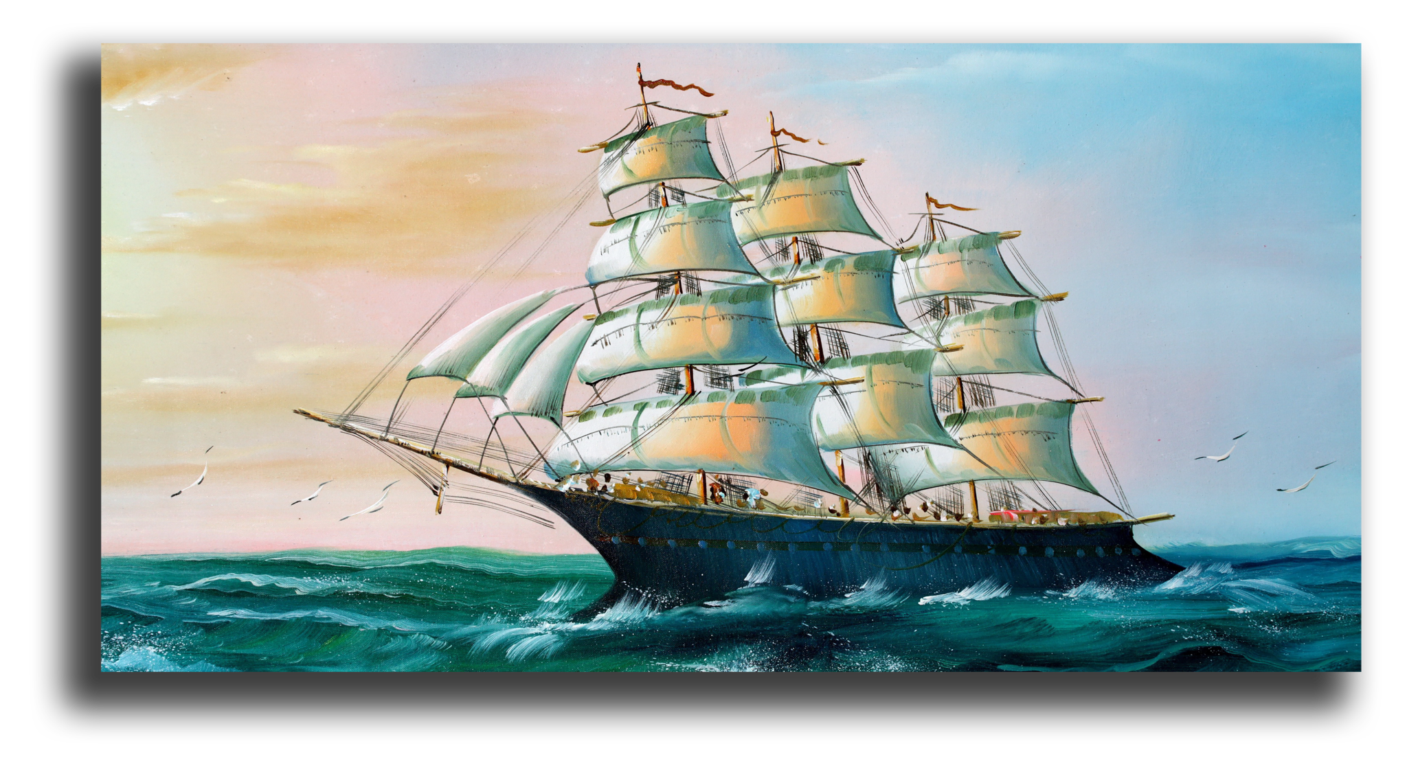 """Постеры Постер """"Морской корабль"""" п260.png"""