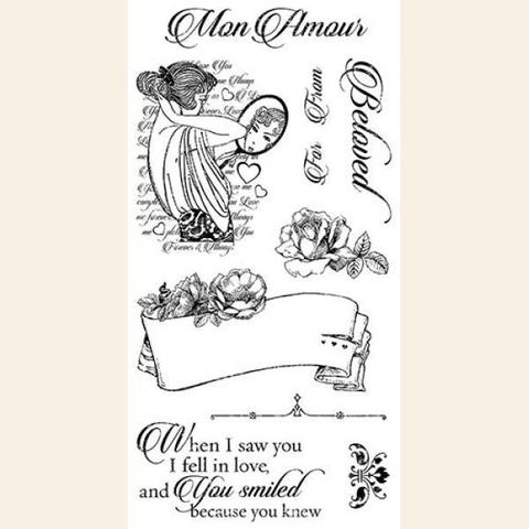 Штамп Mon Amour 1, Graphic45