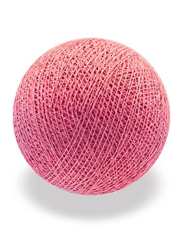 Хлопковый шарик фламинго