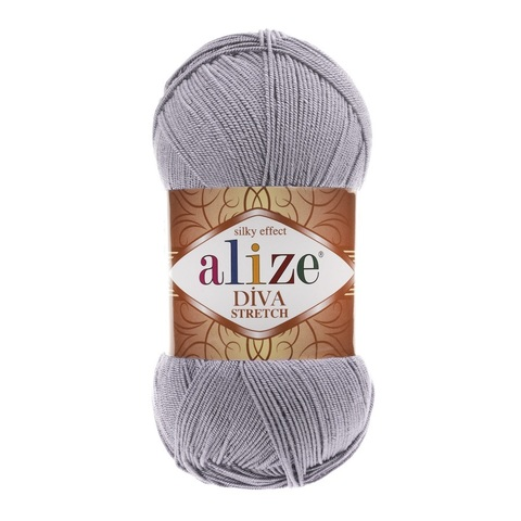 Пряжа Alize Diva Stretch цвет 253