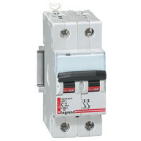 Выключатель автоматический Двухполюсный 6А типC DX 6kA (ЦЕНА ПО ЗАПРОСУ)