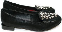 Балетки черные кожаные Kluchini 5212 k 364 Black.