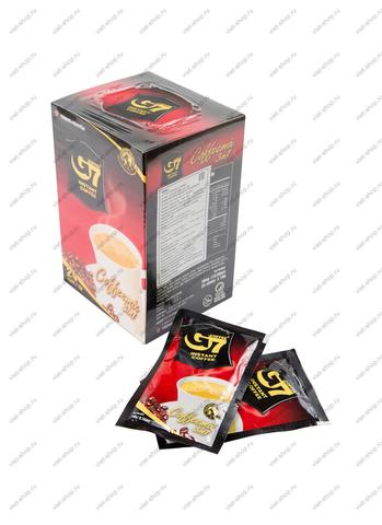 Вьетнамский растворимый кофе G7, 3 в 1 (coffemix), 10-24 пак.