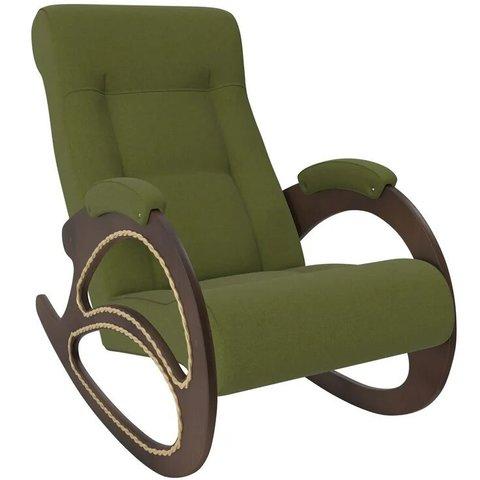 Кресло-качалка Комфорт Модель 4 орех/Montana 501