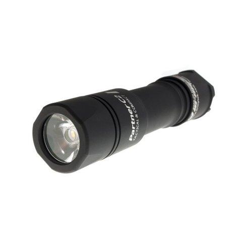 Фонарь тактический Armytek Partner C2, светодиод XP-L 1160 LED лм, белый  (F02502BC)