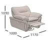 Кресло-реклайнер Венеция (схема)