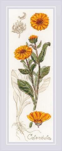 Набор для вышивания крестом «Календула» (1798)