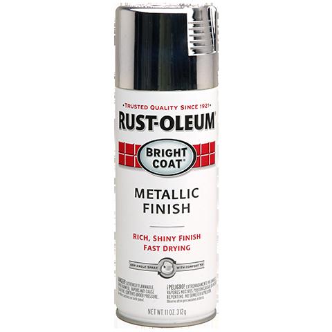 Stops Rust Bright Coat Spray эмаль с эффектом сияющего металлика