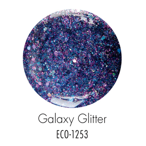 Биогель ECO SO QUICK SOAK OFF мерцающий пурпурный 7г
