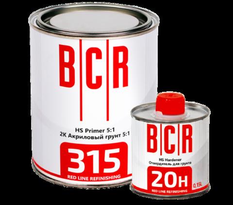 315 Грунт HS 2K Primer 5:1 серый 0,75 + 20H Отвердитель HS 2K Hardener 0,15 L