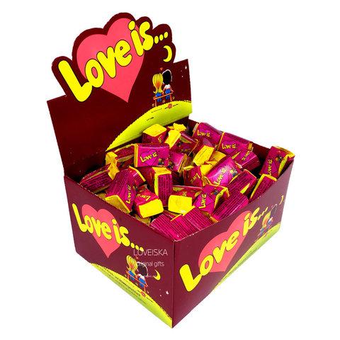 Жевательная резинка Love is… Вишня-лимон 100х4.2 гр