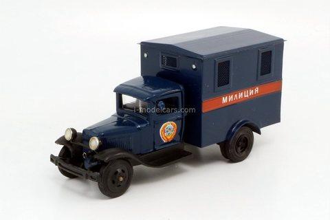 GAZ-AA Militia Prison car 1937 Workshop MP-43 Micromodel EKAM 1:43