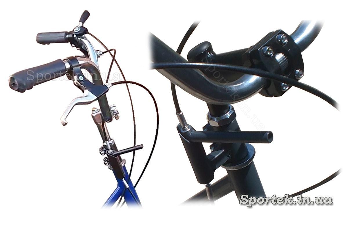 Стояночный тормоз на трехколесных велосипедах