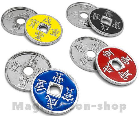 Китайские монетки с оболочкой