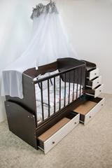 Детская кроватка-трансформер