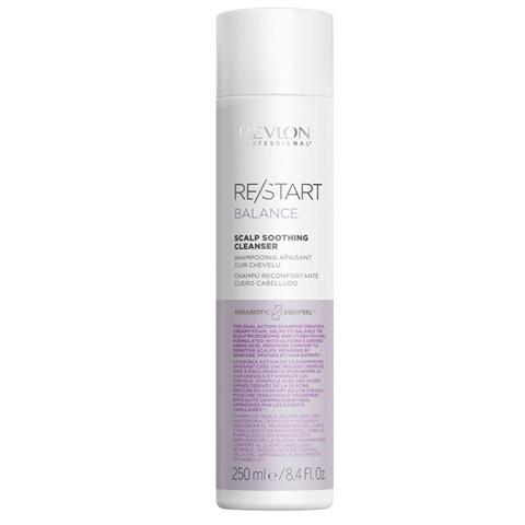 REVLON Restart Balance: Мягкий шампунь для чувствительной кожи головы (Scalp Soothing Cleanser), 250мл/1л