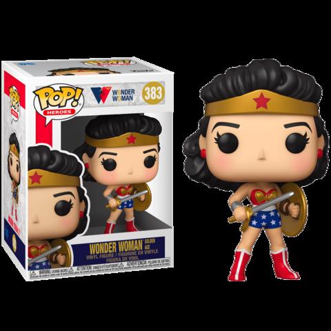 Wonder Woman 80th (Wonder Woman Golden Age) Funko Pop!    Чудо-женщина