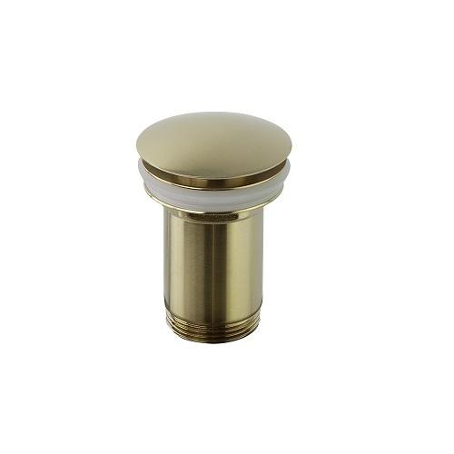 Клапан сливной QUICK CLAC 1219LOC золотой