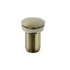 Клапан сливной QUICK CLAC 1219LOC золотой - фото №1