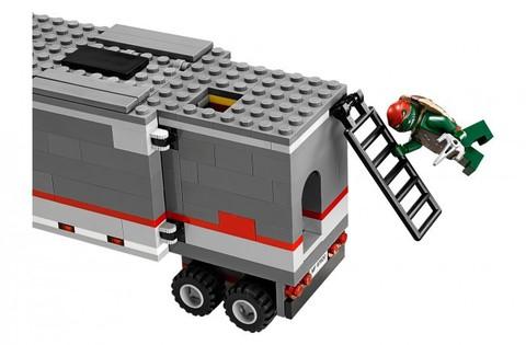 LEGO Ninja Turtles: Большая снежная машина для побега 79116 — Big Rig Snow Getaway — Лего Черепашки-ниндзя мутанты