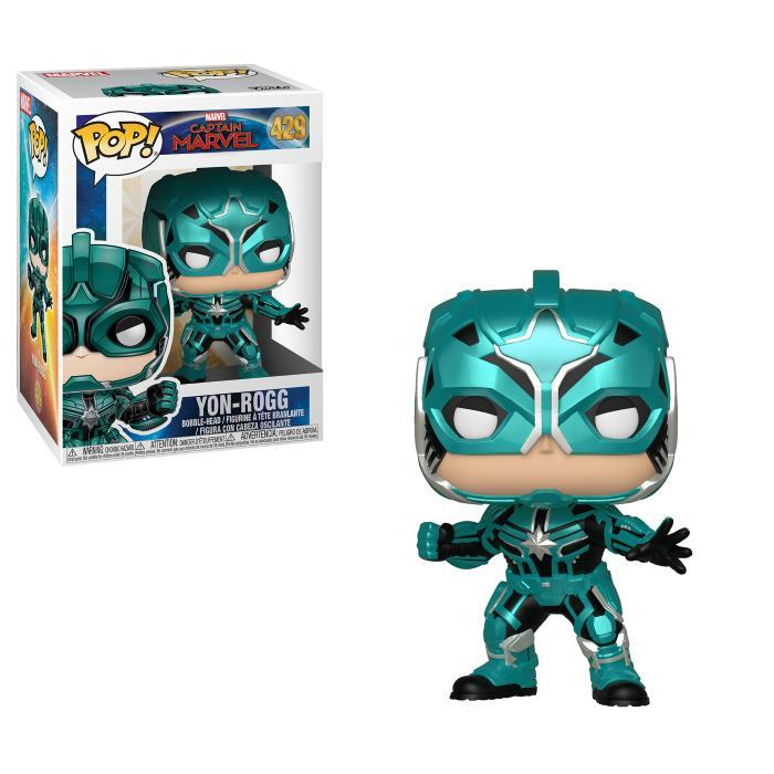 Фигурка Funko POP! Bobble: Marvel: Captain Marvel: Star Commander Yon-Rogg 36352