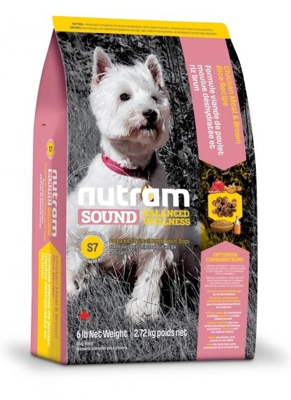 Nutram Sound Balanced Wellness® Small Breed Adult Dog S7