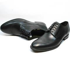 Туфли черные классика мужские Ikos 1157-1 Classic Black.