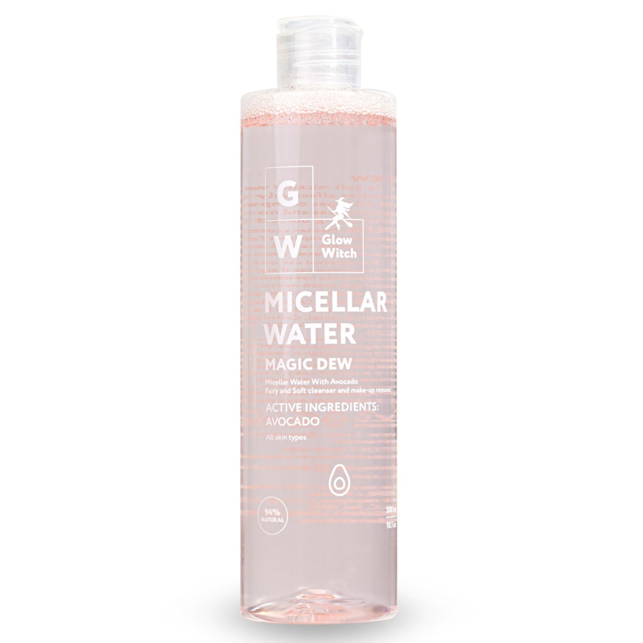 Каталог Мицеллярная вода для снятия макияжа с глаз, лица и губ с экстрактом авокадо для всех типов кожи 300 мл GW01MC__front.JPG
