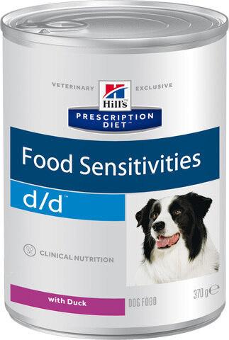 купить Hill's™ Prescription Diet™ Canine d/d™ Duck and Rice консервы (влажный корм) для собак, диетический рацион при пищевых аллергиях с уткой и рисом