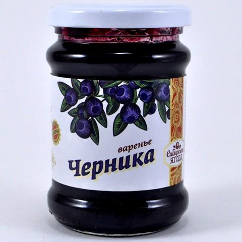 Варенье из черники Ягода сибирская, 300г