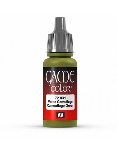 Game Color Camouflage Green 17 ml.