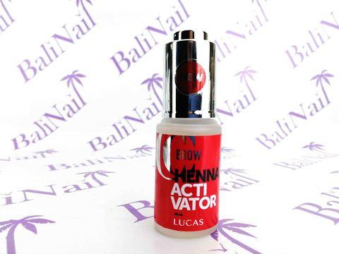 Активатор хны для бровей Henna activator, CC Brow, 20 мл