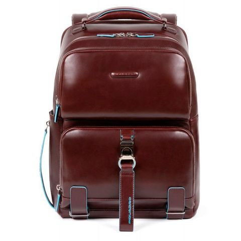Рюкзак мужской Piquadro Blue Square CA4894B2/MO коричневый натур.кожа