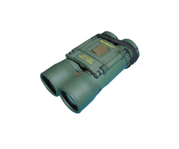 Бинокль Navigator 12x25, зеленый - фото 1
