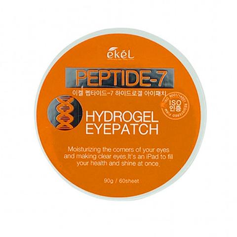 EKEL Патчи для глаз с пептидом - Peptide 7 Hydrogel Eyepatch 60 шт