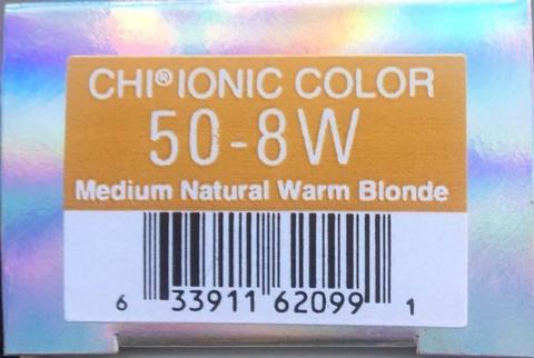 Крем-краска CHI Ионик 50-8 W 85 гр
